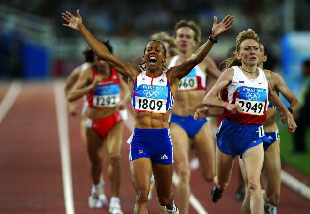 Kelly Holmes Athens 2004