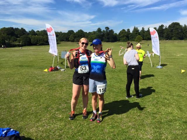 Vanguard Way Marathon Finish